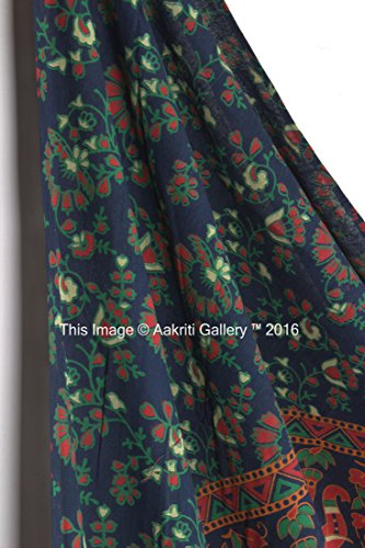 Tapestry Queen Flower Hippie tapestries Mandala Bohemian Psychedelic Intricate Indian Bedspread 92x82 Inches Aakriti Gallery Brand Name: Aakriti Gallery 5