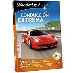 WONDERBOX Caja Regalo -CONDUCCIÓN Extrema- 3.750 experiencias de conducción para Dos Personas