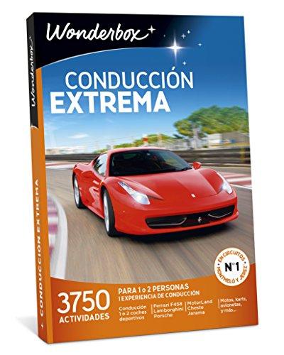 caja regalo conducción extrema wonderbox