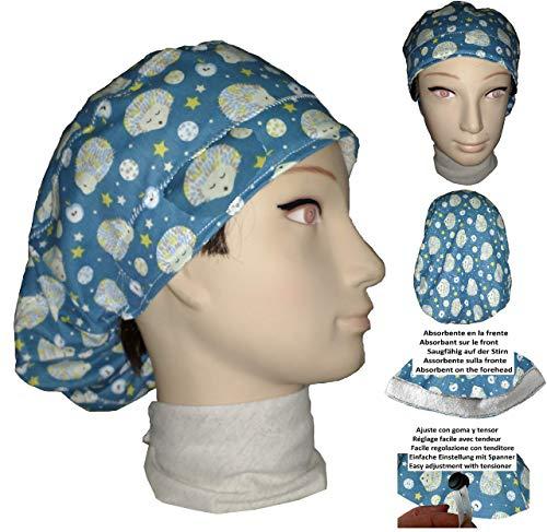 Igel Hut - Chirurgische Kappe. Frau Igel für lange
