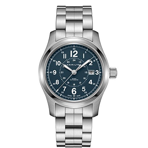Hamilton H70305143 Silver 40mm Stainless-Steel Khaki Field Auto Mens Watch