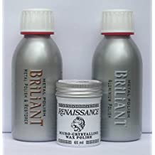 Briliant Sword metal kit pulizia 150 ml con Renaissance Wax