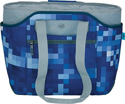Alfi 0007.202.812 Kühltasche isoBag, Polyester, 23 L, feuerrot blue square