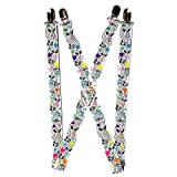 Buckle Down Unisex Suspenders, Music, One Size