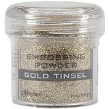 Ranger Embossing Powder 1oz Jar-Gold Tinsel