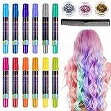 Best Tizas para el cabello - Lictin Tiza para el cabello Tintes capilares con Review
