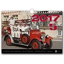 C151-17Kalpa Calendario da Muro 2017Fire Truck calendari da parete esclusiva collezione 45x