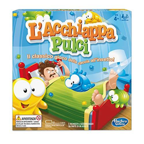 Hasbro L'Acchiappapulci Gioco in Scatola, Multicolore