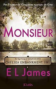 """Résultat de recherche d'images pour """"Monsieur' d'E.L. James"""""""