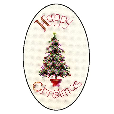 Derwentwater Designs Festive Tree Weihnachten Card