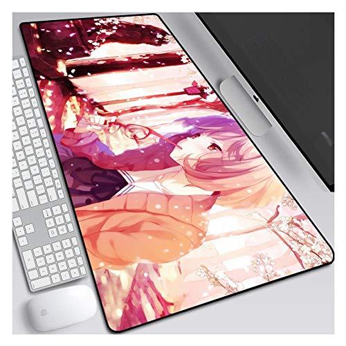 IGIRC Mauspad Jenseits der Grenze 800 x 300mm mauspad, Glatte Texturoberfläche Mousepad, Bestes Präzisionserlebnis, 3 mm Dicke Basis, für Notebooks, PC, T -