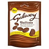 Galaxy Chocolate Buttons Caramel Crunch Pouch New Edition 93g