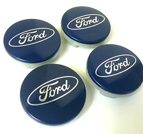 set-di-4-ford-lega-ruote-centro-hub-caps-54-mm-cover-blu-argento-logo-ruota-badge-ka-kuga-focus-fies