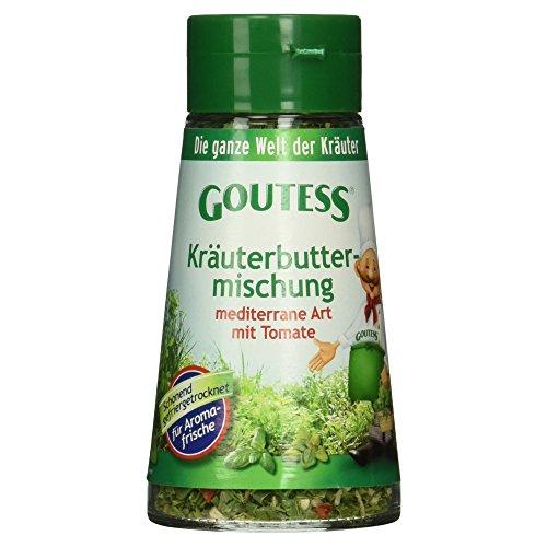 Goutess Kräuterbuttermischung mediterran Art mit Tomate, gefriergetrocknet, 20 g