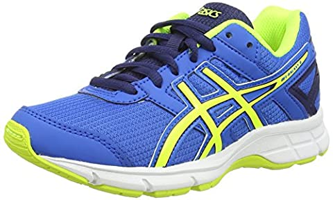 Asics Gel-galaxy 8 Gs, Unisex-Kinder Laufschuhe, Blau (electric Blue/flash Yellow/ind 3907), 35.5 EU (2.5 UK)