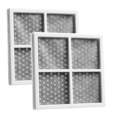 OxoxO Replace Fresh LG LT120F Kenmore 469918 Refrigerator Air Filter Helps Keep Tastes and Odors Separated Top Quality (2pcs) - Lg Kühlschrank Filter Air