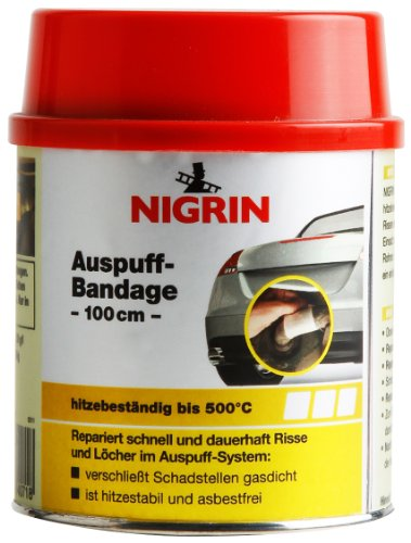 NIGRIN 74071 Auspuff-Bandage 100 cm, asbestfrei
