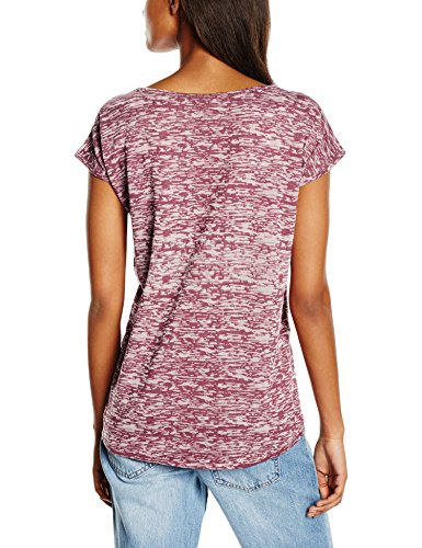 Urban Classics Damen T-Shirt Ladies Burnout Tee Rot (burgundy 606)