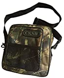 Bolso de lujo para pasear perros CKSN. Para transportar alimentos, juguetes, bozales, bolsas para desechos, collares y entrenar a mascotas, Leaf Camouflage
