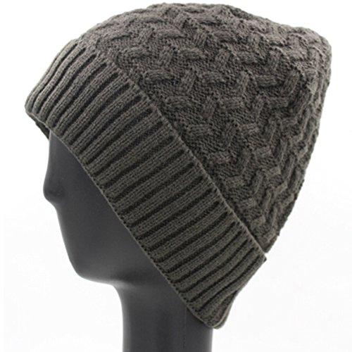 JIANCHIJY Ajouter Un Bonnet en Tricot De Cachemire Outdoor Ski Hat Bonnet De Laine