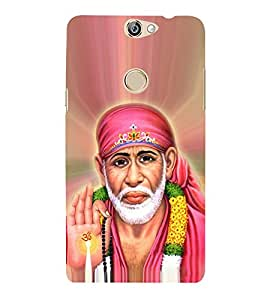OM Shri Sai Jeevadhaaraya 3D Hard Polycarbonate Designer Back Case Cover for Coolpad Max A-8