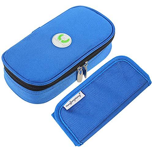 Aranticy Insulin Kühltasche, Diabetikertasche Insulin Taschen Organisator Medikamenten Kühltasche Diabetiker Tasche tragbar Medical Reisen Kühler Fall für Medikamente Thermotasche Insulin Cool Bag -