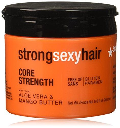 sexyhair STRONG Core Strength maschera 200ml Maschera per la riduzione di frazioni di capelli