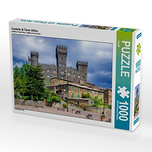 Castello di Torre Alfina 1000 Teile Puzzle quer