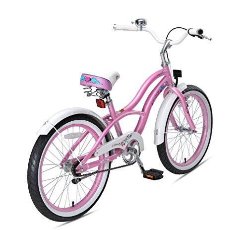 Bikestar Bicicletta Bambini 6 7 Anni Bici Bambino Bambina 20 Pollici Freno A Pattino E Freno A Retropedale 20 Cruiser Edition Rosabikestar