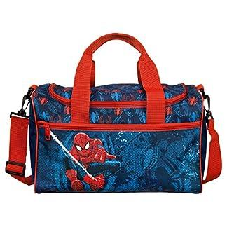 Undercover Marvel Spider-Man, Aprox. 35x 16x 24cm Bolsa de Deporte, 35cm, 8L, Color Azul