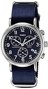 Timex Weekender Chronograph Blue Dial Men's Watch - TW2P71300