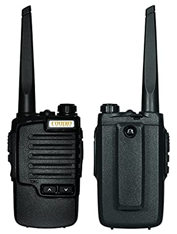 Coodio C9 Rechargeables Talkies Walkies Radio 2.5W UHF 400-480MHz 16-Canaux