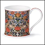 DUNOON Wessex Fine Bone China Becher collection-arts und Crafts Collection Rose