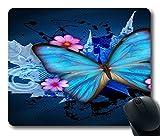 Flying-20170522 Blue Butterfly Gel Druckkissen DIY