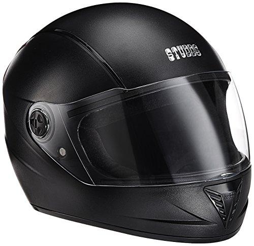Studds STS_PRL_BLK_L Professional Full Face Helmet (Black, L)