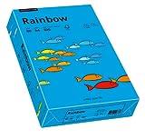 Papyrus 88042761 Druckerpapier Rainbow 80 g/m², A4 500 Blatt intensivblau