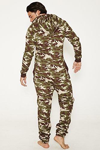 Jumpin Erwachsene Jumpsuit Original, Cammo, Camouflage, M, 10014 - 2