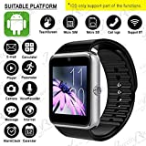 XOLO PLAY 6X-1000 GT08 Smart Watch With Camera || Smart Watch With Memory Card|| Smart Watch With Sim Card Support ||fitness Tracker|| Bluetooth Smart Watch||Wrist Watch Phone|| Smart Watch With Facebook. Whatsapp|| 4G Smart Watch||Any Color ||Best In Qua