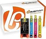 Bubprint 4 Druckerpatronen kompatibel für HP 903XL 903 XL für OfficeJet Pro 6860 Series 6868 6950 6960 6970 6975 6900 Series Schwarz Cyan Magenta Gelb