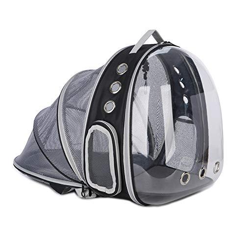 XF Hong Tai Yang Bolsa de Viaje para Mascotas, Dispositivo para Mascotas, cápsula Espacial, portátil, Ampliable, Bolsa para Perros Bolsa de Gato, Serie de Moda Mochila para Mascotas ** (Color : Azul)