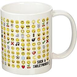 Emoticonos, taza de cerámica, multicolor