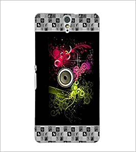 PrintDhaba Abstract Design D-3177 Back Case Cover for SONY XPERIA C5 ULTRA (Multi-Coloured)