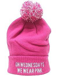 On Wednesdays We Wear Pink Beanie Hat