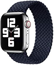 Watch Band Braided Loop Watch Strap   for Apple Watch Compatible With iWatch Series 6/5/4/3/2/1   Luxury Quali