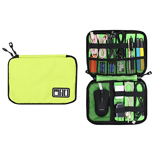 Kleine Reise Elektronik Kabel Organizer Tasche für Kordeln, Kabel, Ladegerät, Power Bank, Akku Pack, Festplatten, USB-, Gear, Kopfhörer, Flash-Laufwerk, Elektronik Zubehör