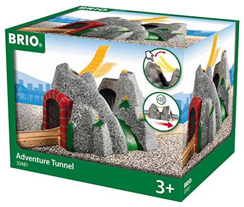 elektrisches pferd BRIO World 33481 Magischer Tunnel – Eisenbahnzubehör für die BRIO Holzeisenbahn – Kleinkinderspielzeug mit Effekten empfohlen für Kinder ab 3 Jahren