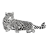 Cheetah Wall Sticker - TOOGOO(R)New Design Vinyl Wall Stickers Animal Cheetah Leopard Panther Removable Wall decal for Kids Nursery Living Rooms Home Decoration