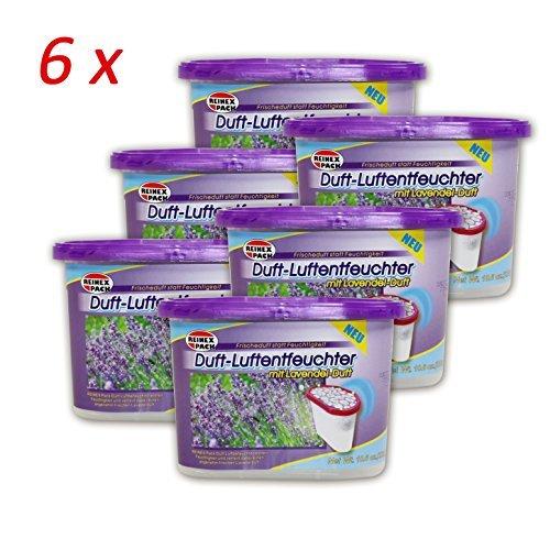 Lavendel Luft ((709) 6er pack Duft Lavendel Raumentfeuchte Luftentfeuchter Luft Entfeuchter)