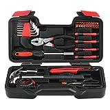 INTEY 39-teiliger Premium Universal- und Haushalts-Werkzeugkoffer