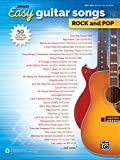 Alfred's Easy Guitar Songs Rock and Pop: 50 Hits from Across the Decades: Easy Hits Guitar Tab Edition
